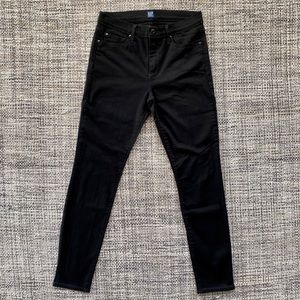 Gap Black High Waisted Skinny Jeans